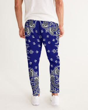 HeavenRazah Blue Bandana Official HellRazah Music Inc. Men's Designer Joggers