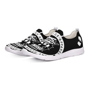 Razah Renaissance Apparel Oversize Logo Lace Up Limited Edition Flyknit Shoes