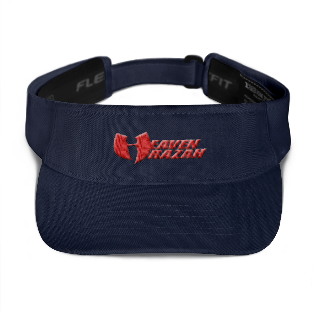 Official Heaven Razah / Hell Razah Embroidered Visor Graphics by Culture Freedom