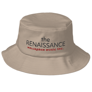 HellRazah Music Inc. The Renaissance RRA Embroidered Old School Bucket Hat