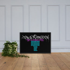 HRMI Brooklyn Tale HellRazah Music Inc. Deluxe Framed Poster - Wall Art HeavenRazah Merch Graphics by Sly Ski Original