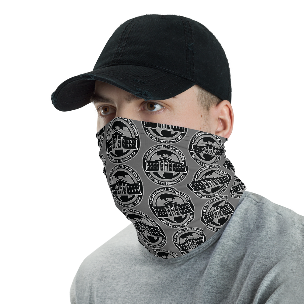 Ghetto Gov't Patterned Logo Face Shield - Neck Gaiter