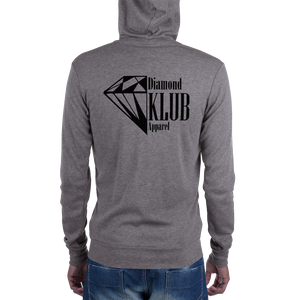 Official Diamond Klub Apparel Unisex Zip Hoodie