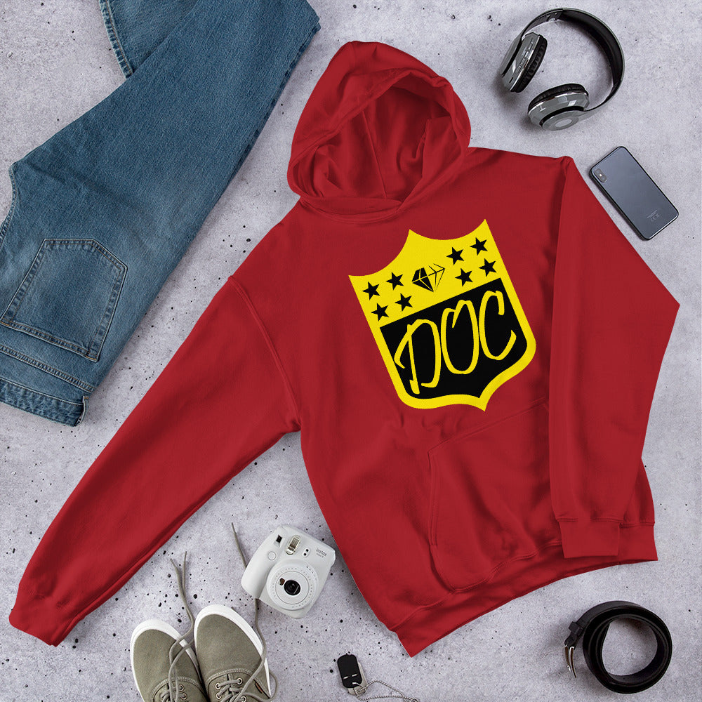 DOC Twisted Logo Hoodie Unisex Hooded Sweatshirt
