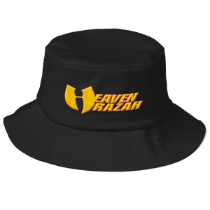 Official Heaven Razah / Hell Razah 3-D Embroidered Old School Bucket Hat Graphics by Culture Freedom