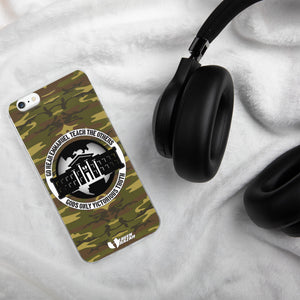 Ghetto Gov't Officialz GGO Green Camo Heaven Razah / Hell Razah Music Inc iPhone Case