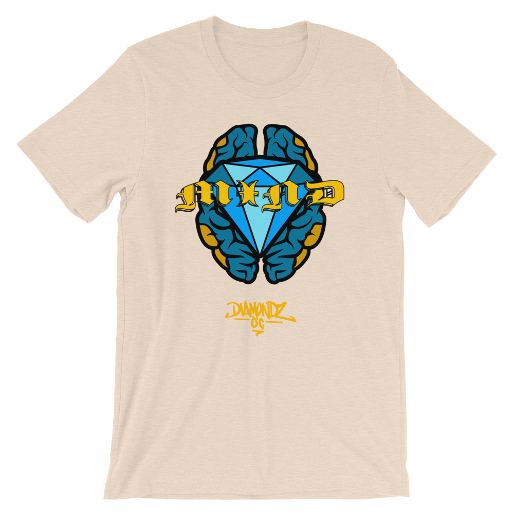 Diamondz OC Mind Tee Urban Designer Tee Soft Short-Sleeve Unisex T-Shirt
