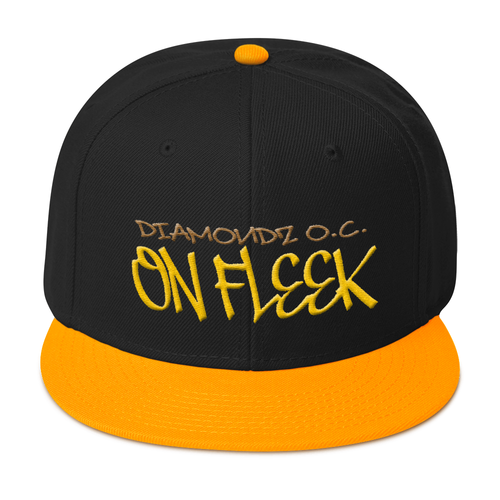 ON FLEEK by Diamondz OC Designer Embroidered Cap Snapback Hat