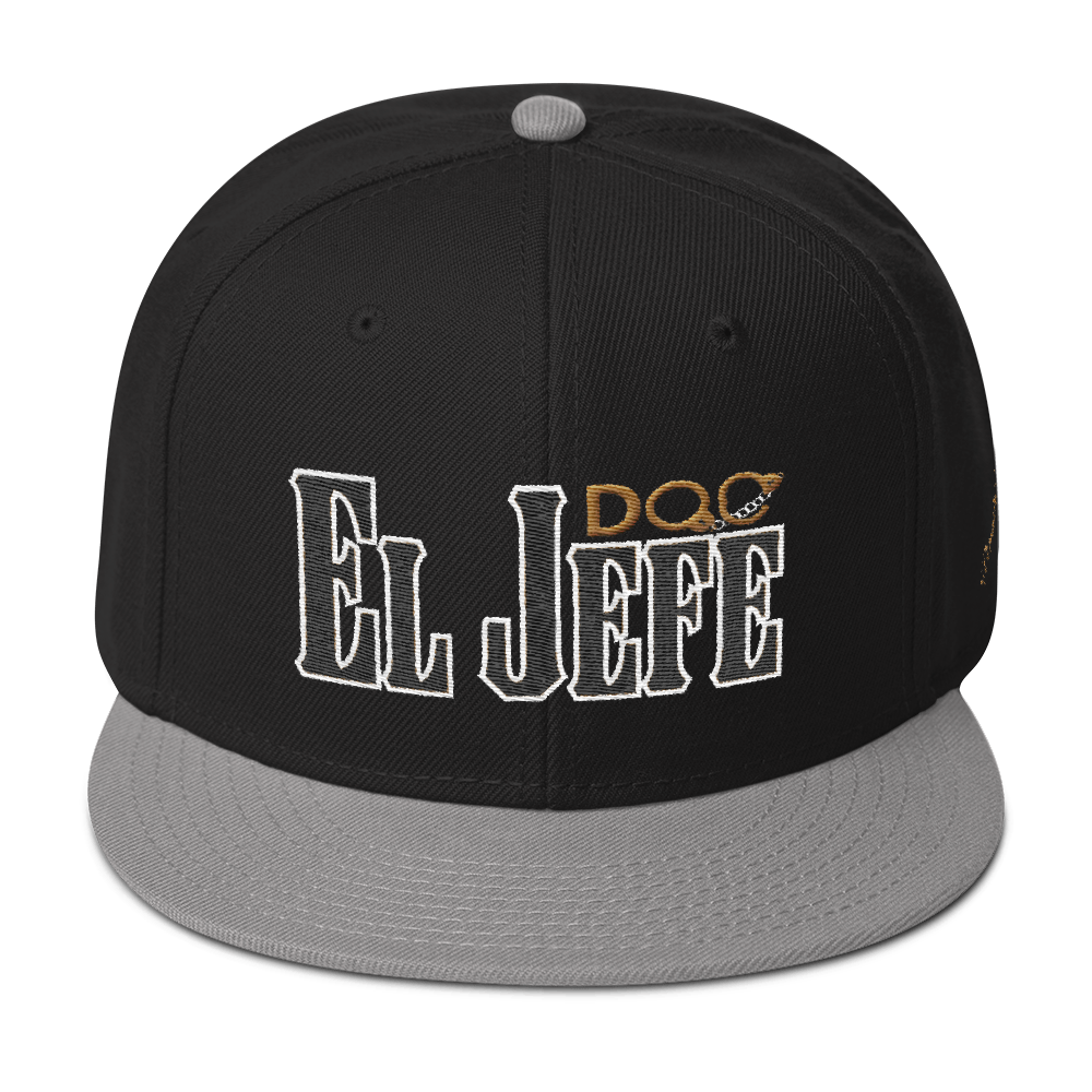 El Jefe por DiamondzOC The Boss Hat Designer Urban Snapback Hat