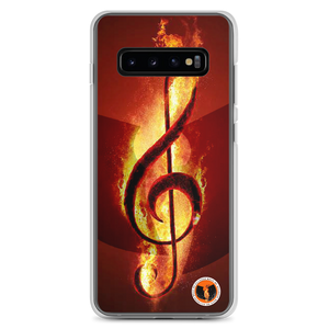 Official HellRazah Music Inc. Designer Limited Edition Fire Samsung Case HeavenRazah Merch Graphics by SmuveMassBeatz