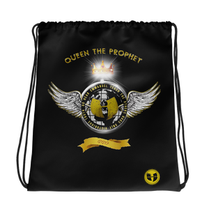 Queen The Prophet GGO - Heaven Razah Music Drawstring Cinch Bag Graphics by Culture Freedom