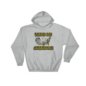 This Is America 2 by DOC Hoodie Hooded Sweatshirt