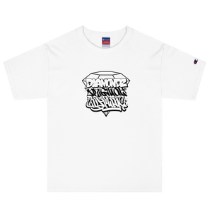 Diamondz Original Clothing Sly Ski Graffiti Men's Champion T-Shirt