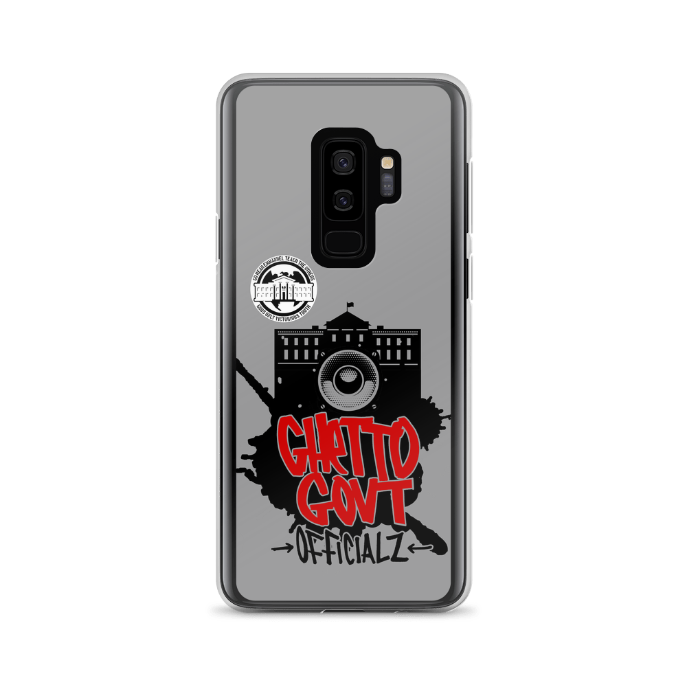 Ghetto Gov't Officialz Capitol Logo Heaven Razah - Hell Razah Graphics by iHustle365 Samsung Case