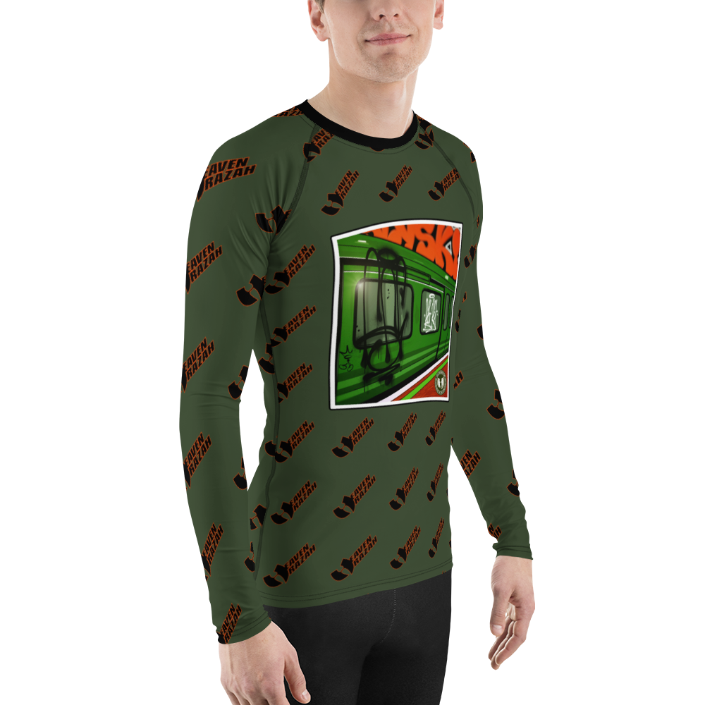 HeavenRazah Renaissance Subway Designer Rash Guard