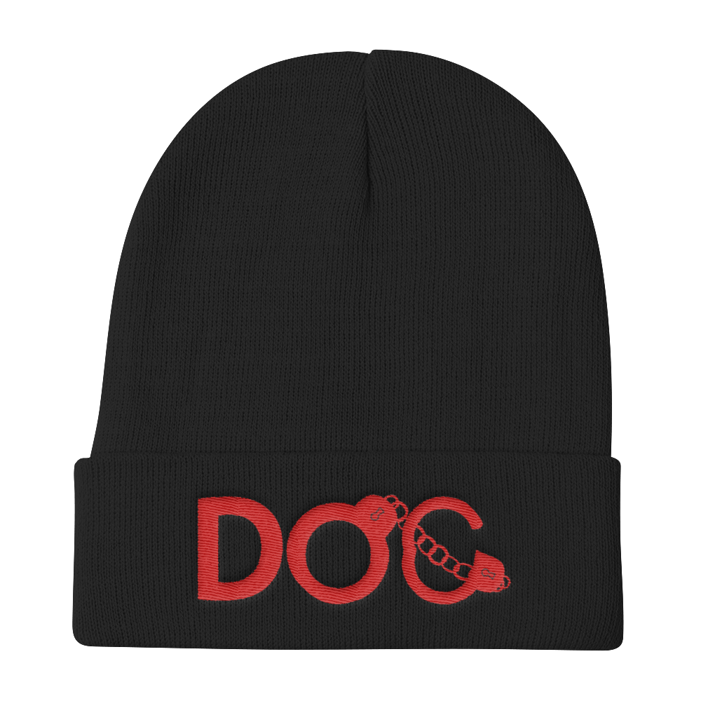 Diamondz Original Clothing D.O.C. Logo Embroidered Knit Beanie