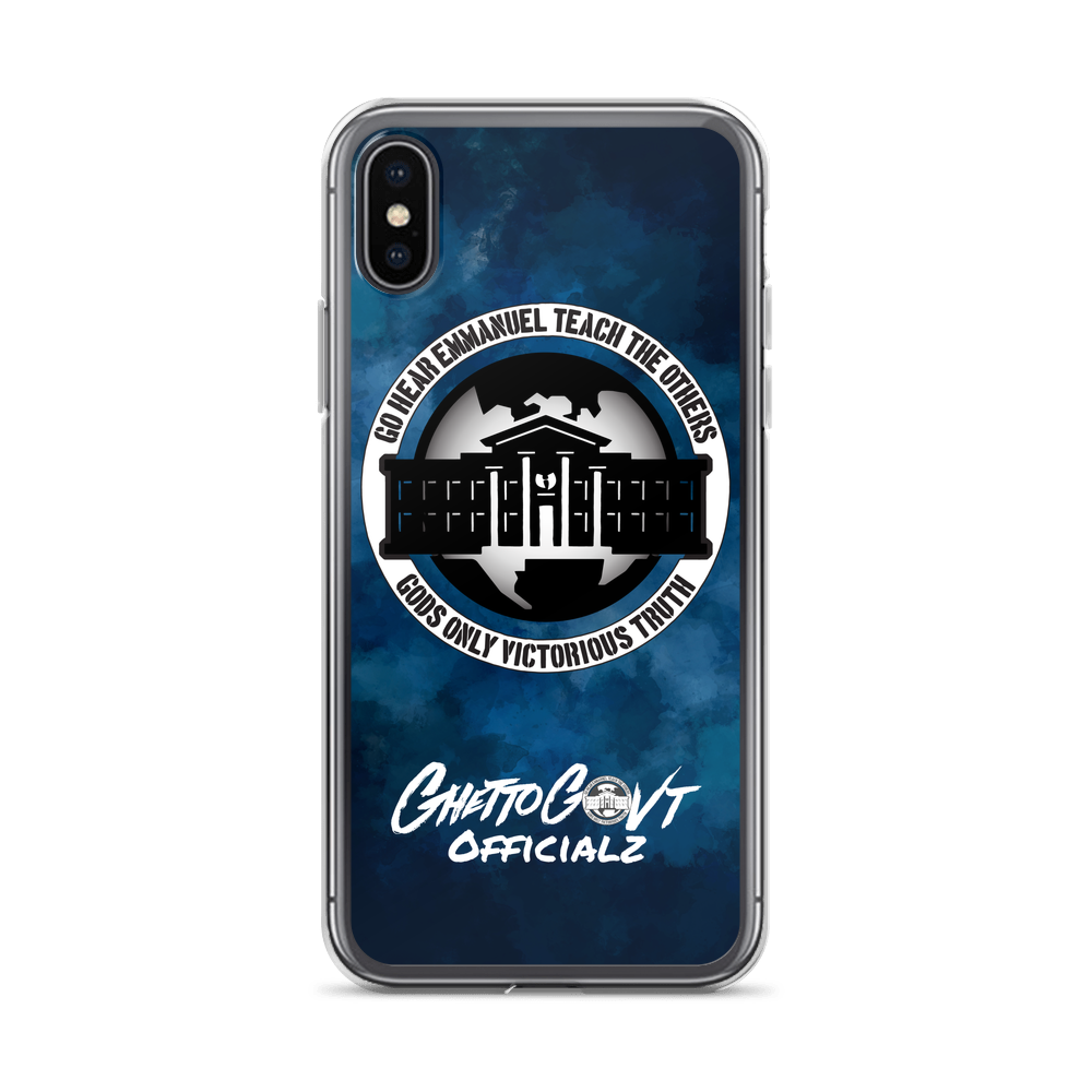 Ghetto Gov't Officialz Logo iPhone Case