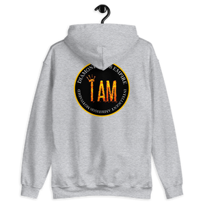 I AM Intelligent Ambitious Motivated Diamond Klub Empire Unisex Hoodie