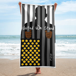 United We Stand by DOC Beach Towel / Room Decor