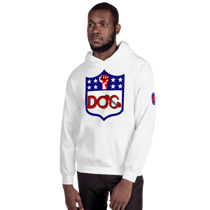 D.O.C. Fist Up 3 Logo Hoodie - Hooded Sweatshirt by DiamondzOC