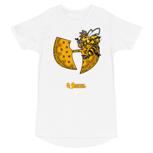 Official Heaven Razah / Hell Razah Music Inc Killer Bee Long Body Urban Tee Artwork by Culture Freedom