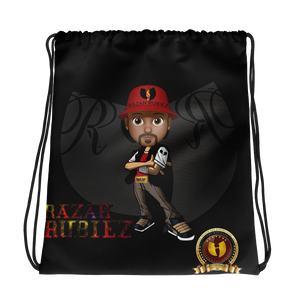RAZAH RUBIEZ Official HellRazah Music Inc. Collectors Drawstring Bag HeavenRazah Merch Graphics by SmuveMassBeatz