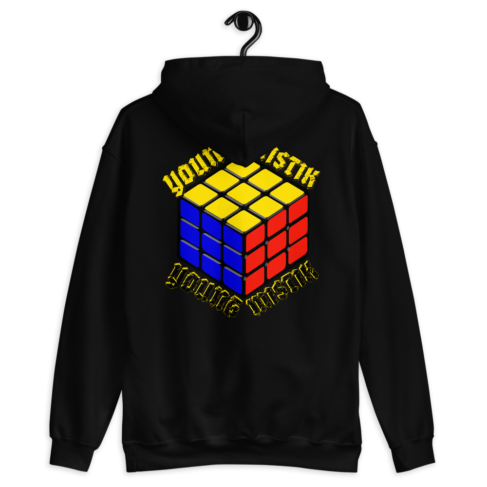 DKE Young Mistik Cubed Hooded Sweatshirt Diamond Klub Empire by DiamondzOC