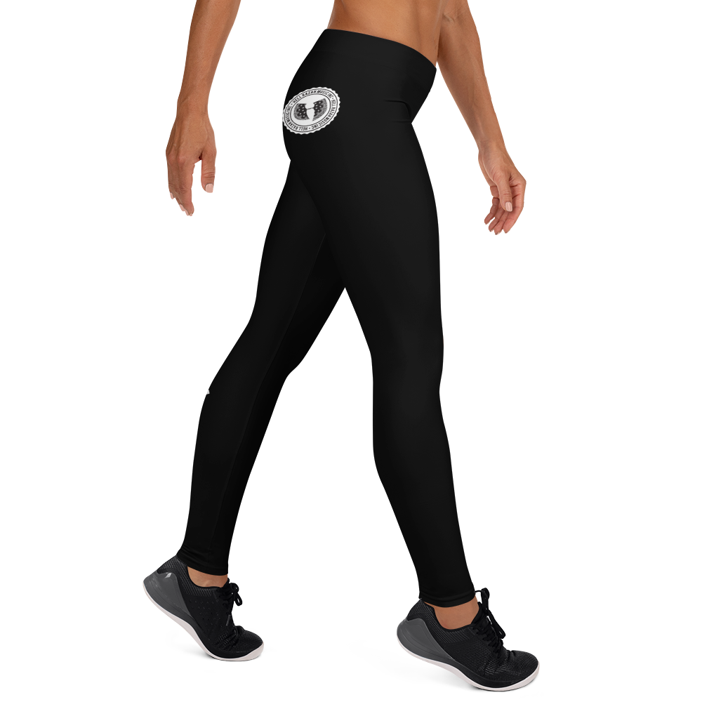 Official HellRazah Music Inc. Skater Style Tagger Designer Leggings Yoga Pants HeavenRazah Merch Graphics by Sly Ski Original