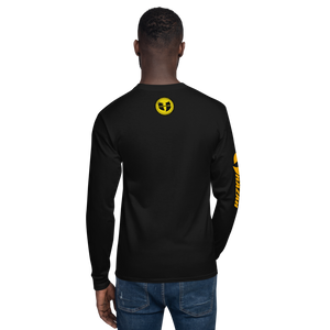 Ghetto Gov't Officialz GGO Throwback Logo Men's Champion Long Sleeve Shirt HeavenRazah - HellRazah Music Inc.