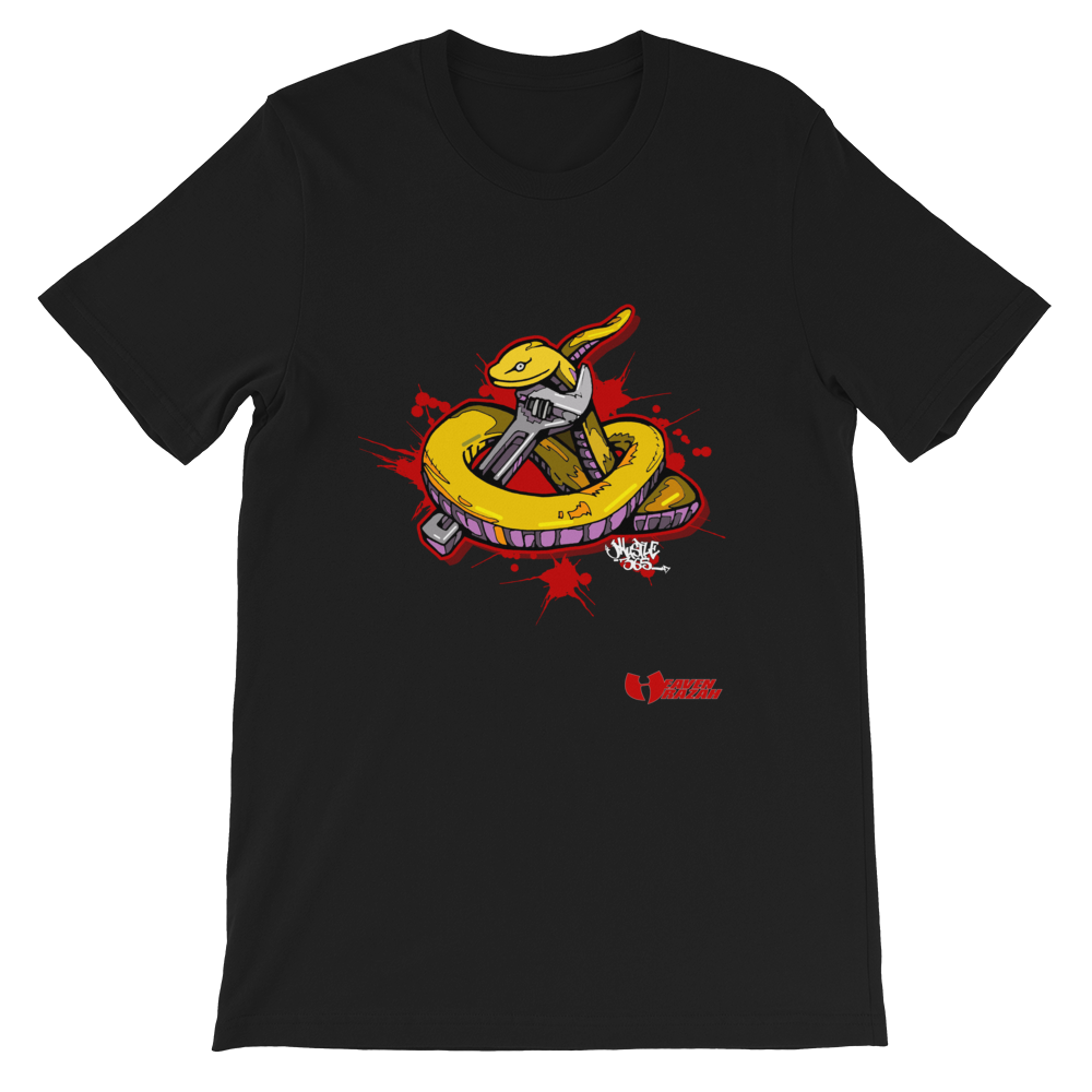 Official Hell Razah Music Inc Snakes Get Wrenched Designer Short-Sleeve Unisex T-Shirt Heaven Razah Graphics by iHustle365_