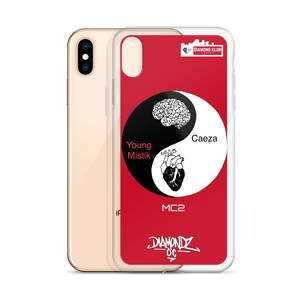 Official Diamond Klub Empire CAEZA vs MYSTIK EP iPhone Case by DiamondzOC