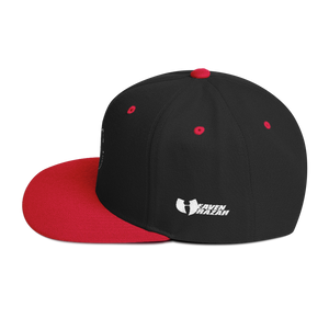 Heaven Razah H Logo Outline Embroidered Snapback Hat