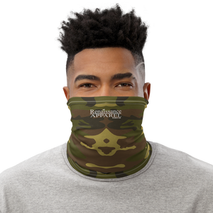 Renaissance Apparel Green Camoflauge Face Cover - Neck Gaiter