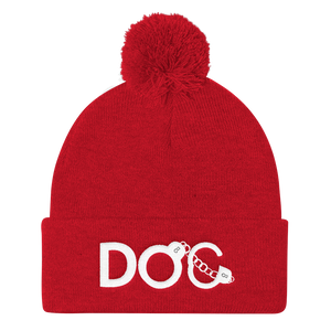 DOC Logo Diamondz Original Clothing Embroidered Pom Pom Knit Cap
