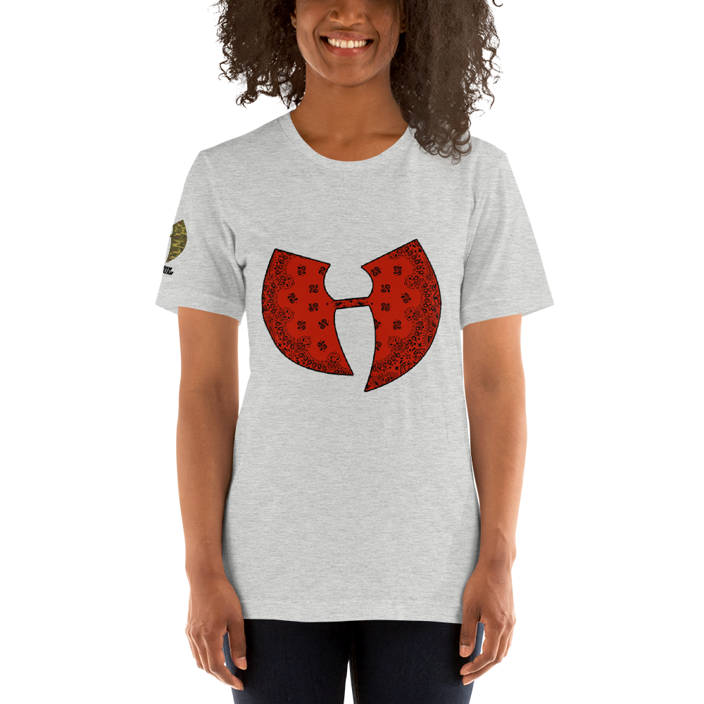 Official Heaven Razah / Hell Razah Music Inc Red Bandana Logo Soft Tee Unisex T-Shirt Graphics by Culture Freedom