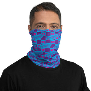 R.A. Grape Face Shield - Neck Gaiter