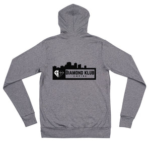 Team Caeza / Diamond Klub Empire Unisex Zip Up Hoodie