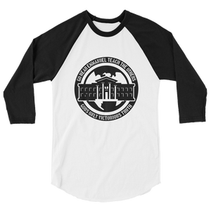 Ghetto Gov't Officialz Heaven Razah / Hell Razah Music Inc 3/4 Sleeve Raglan Shirt