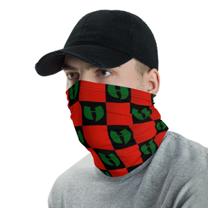 Renaissance Checkerboard Hell Razah Facemask - Neck Gaiter