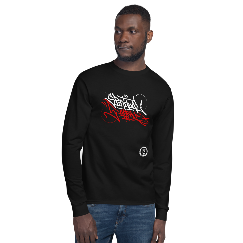 SPIRITUAL SCARFACE Tagger Style Champion Long Sleeve Shirt