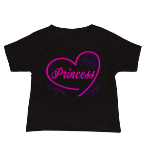 DiamondzOC Princess T-shirt Baby Jersey Short Sleeve Tee