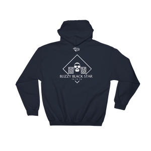 Blizzy Black Star Logo Official Diamond Klub Empire Hoodie Designer Unisex Hooded Sweatshirt