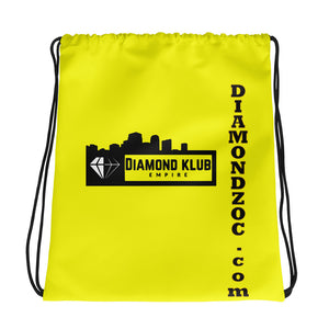 Diamond Klub Empire Yellow Drawstring bag