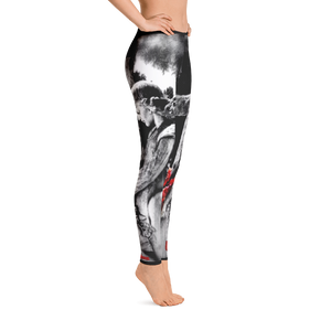 Official Heaven Razah / Hell Razah Rose Angel Designer Leggings