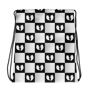 Renaissance Apparel HellRazah Chessboard Drawstring Bag