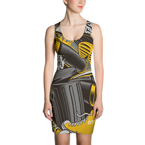 Official DiamondzOC Golden Mics Designer Dress