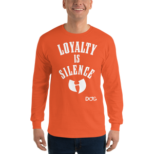 HRMI LOYALTY IS SILENCE Fall 2019 Official HellRazah Music Inc. Long Sleeve T-Shirt HeavenRazah Merch