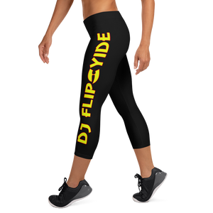 Official DJ Flipcyide Merchandise - Mixmaster Assassin Womens Capri Leggings