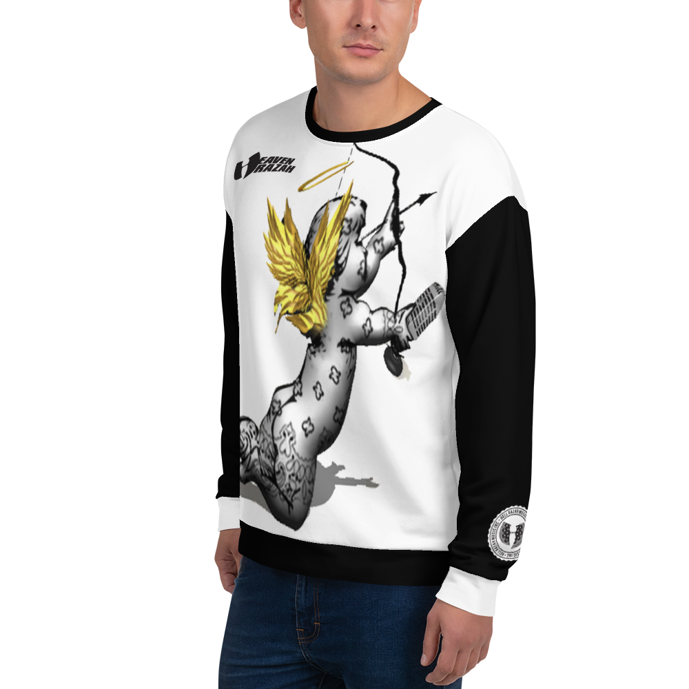 Heaven Razah Seraphim Streetwear Designer Unisex Sweatshirt Graphics Official Hell Razah Music Inc. Merchandise Graphics by SmuveMassBeatz