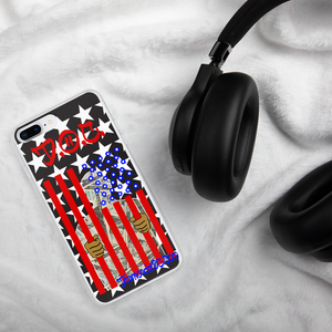 Prison 4 Profit Flag by DOC iPhone Case